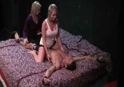 Tied down and tickled gif