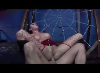 Rough fucked and dp cum filled