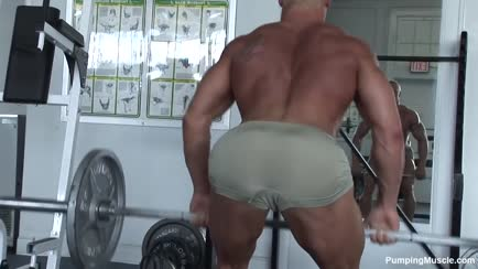 Handsome Bodybuilder Pt.3 gif
