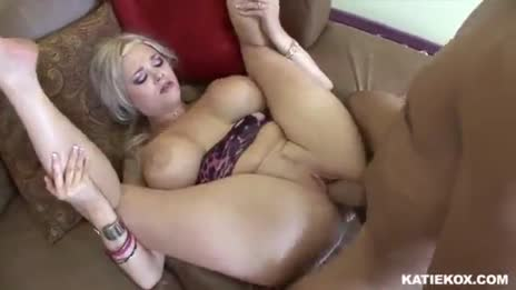 Pretty Blonde Bimbo Katie Kox Gets A Good Hard Drilling 10