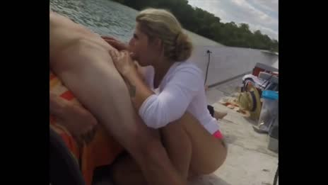blowjob on boat