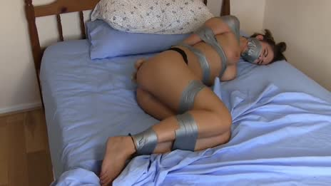 Taped bound beauty