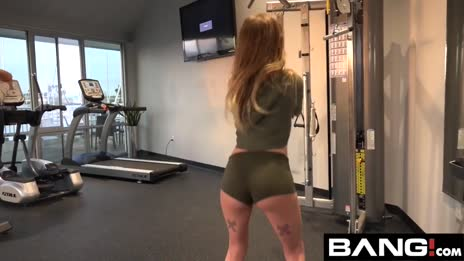 starting workout from ass exercises