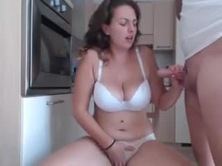 cums while jerking