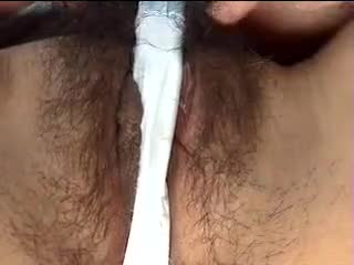 wet japanese hairy pussy