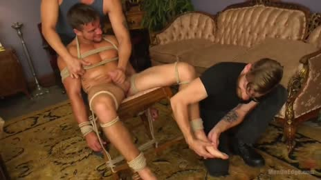 jerked off and tickle tortured at the same time gif