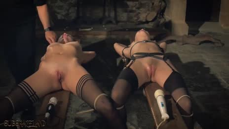 Kinky Sex Game and Bondage Sex for Two Slaves Ready to