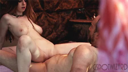 sexy red head gif