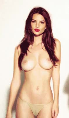 slim babe with great boobs gif