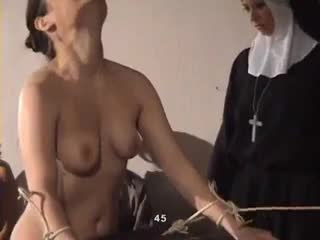 girl caned by nuns
