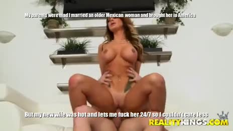20 year old American marries 35 year old Mexican Milf