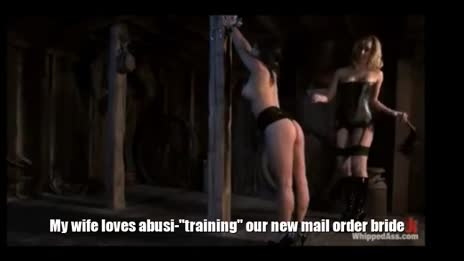 Wife trains new mail order wife