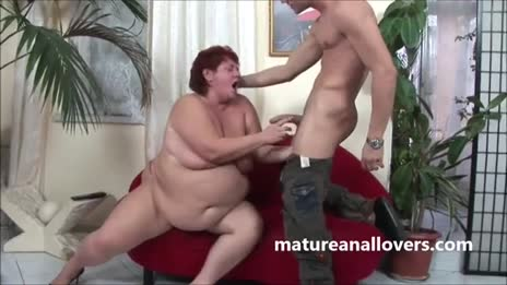 big belly mature ass-popped
