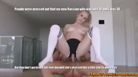 18 year old Russian wife and 36 year American husband