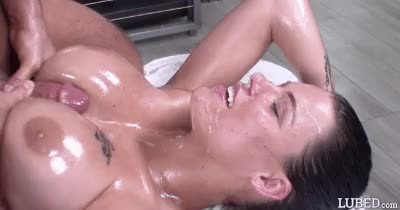 oiled titty ready to fuck gif