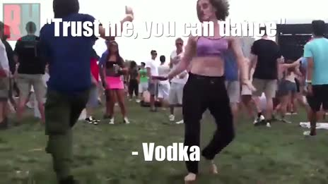 Trust me, you can dance - Vodka gif