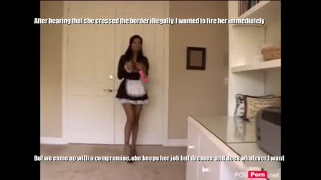 Illegal Mexican maid becomes American slave pt 1