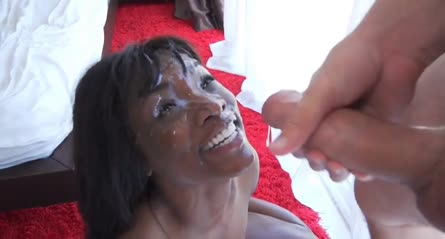 Black beauty cumfaced laughter gif