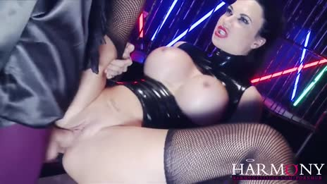 Jasmine Jae fucked in latex