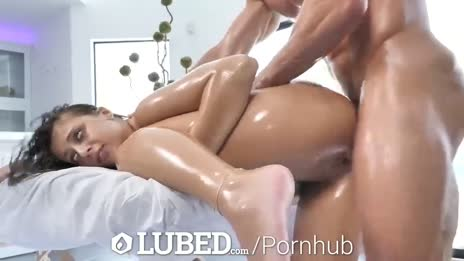 LUBED Slippery Bouncing Booty Fucked by Big Dick - Pornhub.com