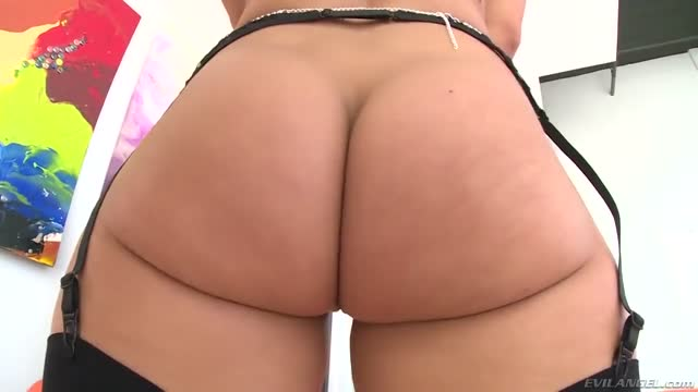 Gorgeous Candice Dare Ass Sodomized gif