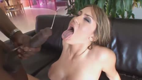 Hot Slut Trina Michaels Takes A Well Eearned Load All Over Her Pretty Face
