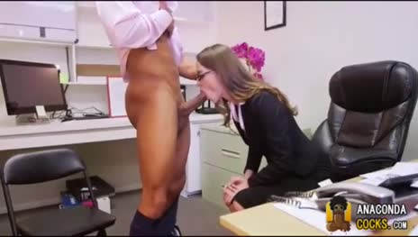 secretary blowjob