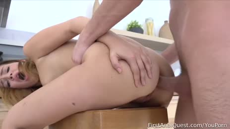 Teen Shelley Bliss comes back for more anal gape
