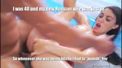 Bitchy 18 Year Old Russian Wife Gets Punished