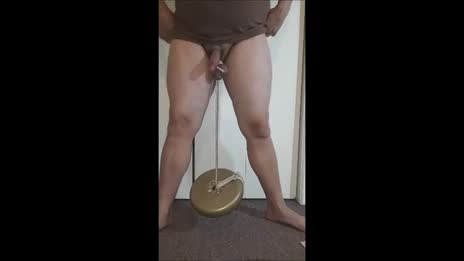 10Lbs Testicle Lift   CBT ball streching
