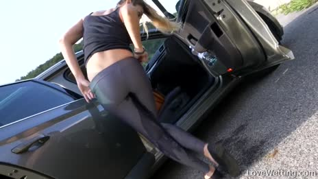 pissed her pants 2