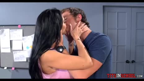 Ava Addams Teacher Kissing boob grabbing