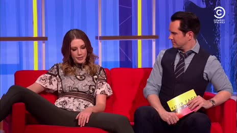 Katherine Ryan spreads her legs for the British public 3