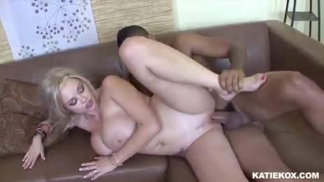 Pretty Blonde Bimbo Katie Kox Gets A Good Hard Drilling 14