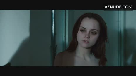 Christina Ricci hot and sexy face
