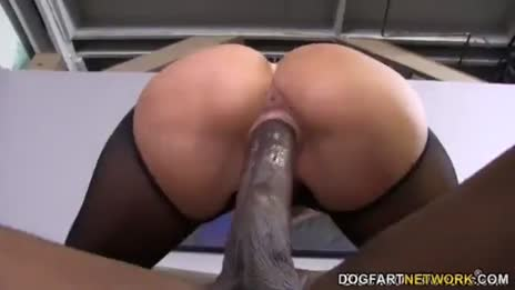 milf takes huge bbc in her big booty