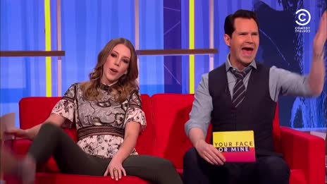 Katherine Ryan spreads her legs for the British public 2