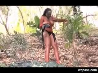 Drunk and Fucked in the Woods
