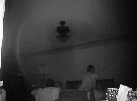 wife fucked on security cam